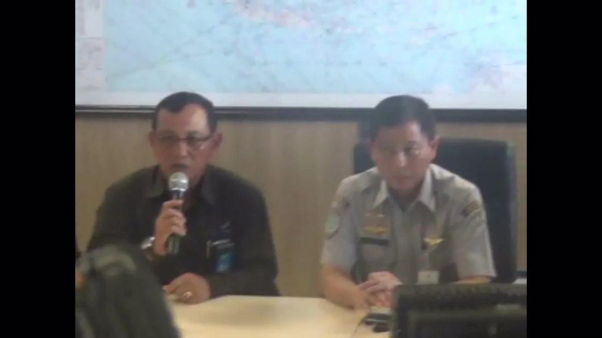 Indonesia: AirAsia flight DISAPPEARED at Tanjung Pandan island