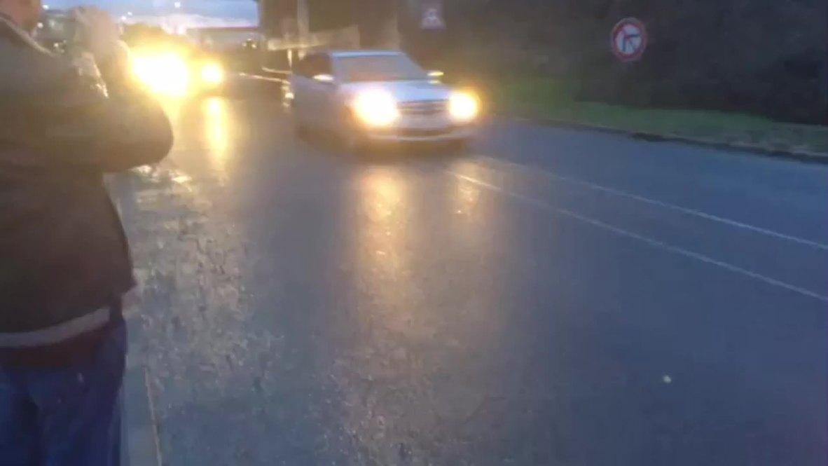 France: Watch ambulances race to scene of Dammartin-en-Goele siege