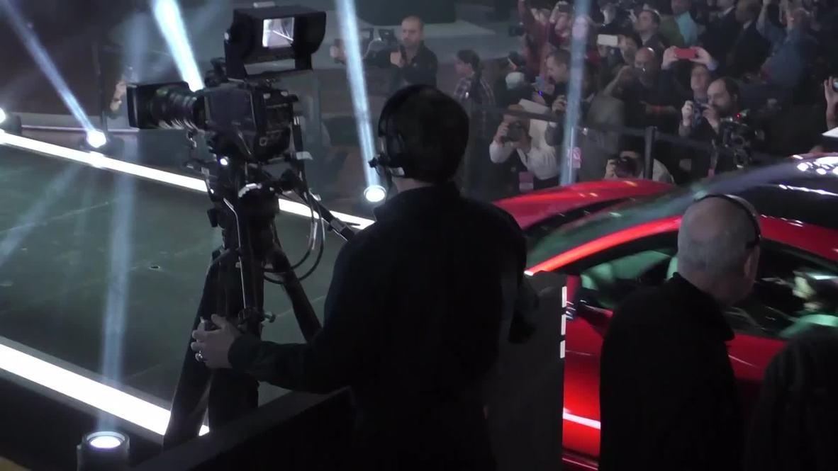 USA: Honda's Acura unveils luxury NSX hybrid supercar