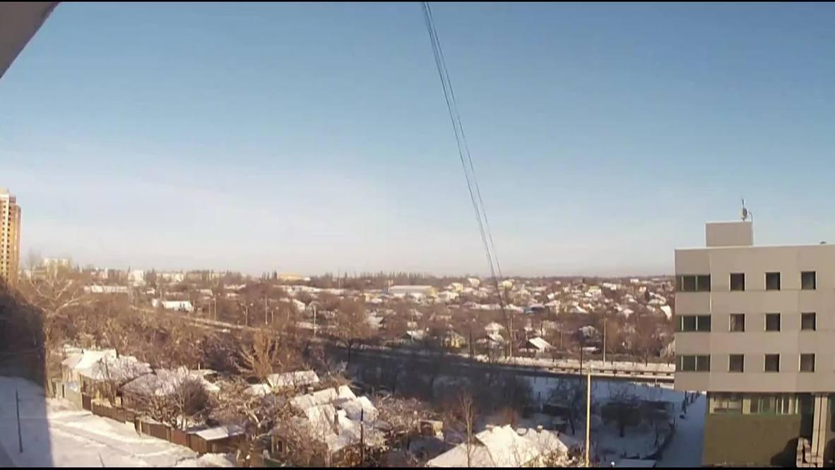Ukraine: Huge explosions rock Donetsk airport