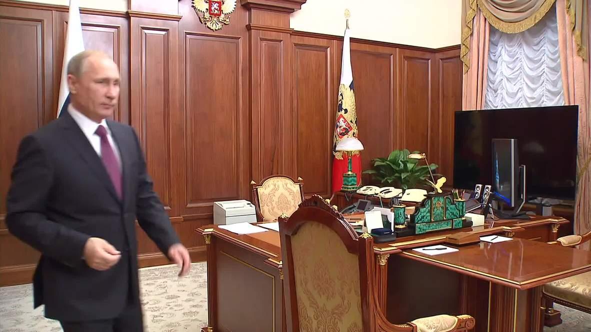 Russia: Putin hears of economic success in Irkutsk