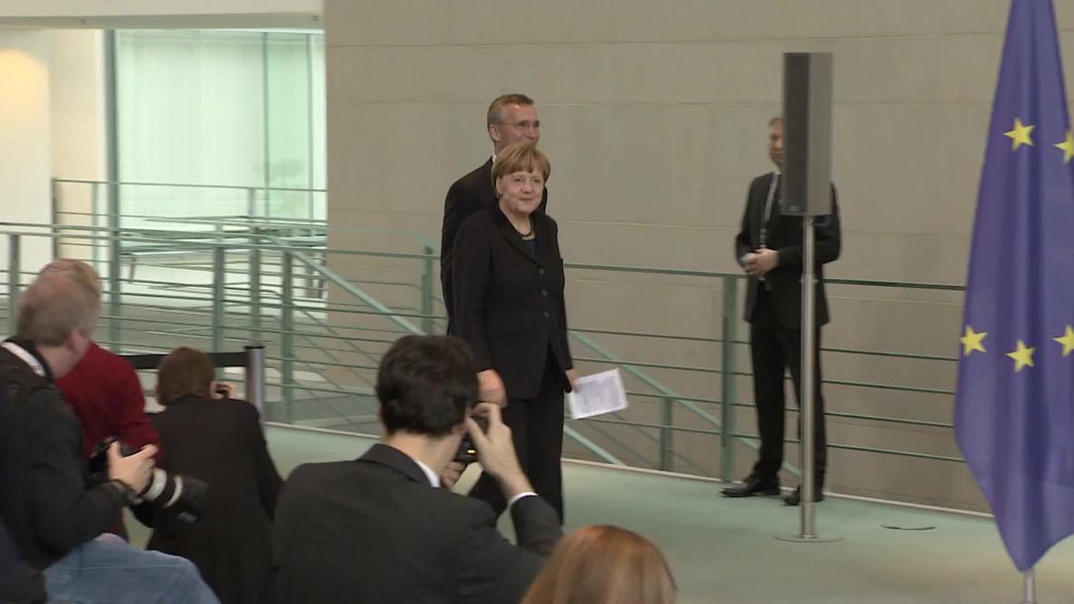 Germany: Merkel talks positively about Astana meeting on Ukraine conflict