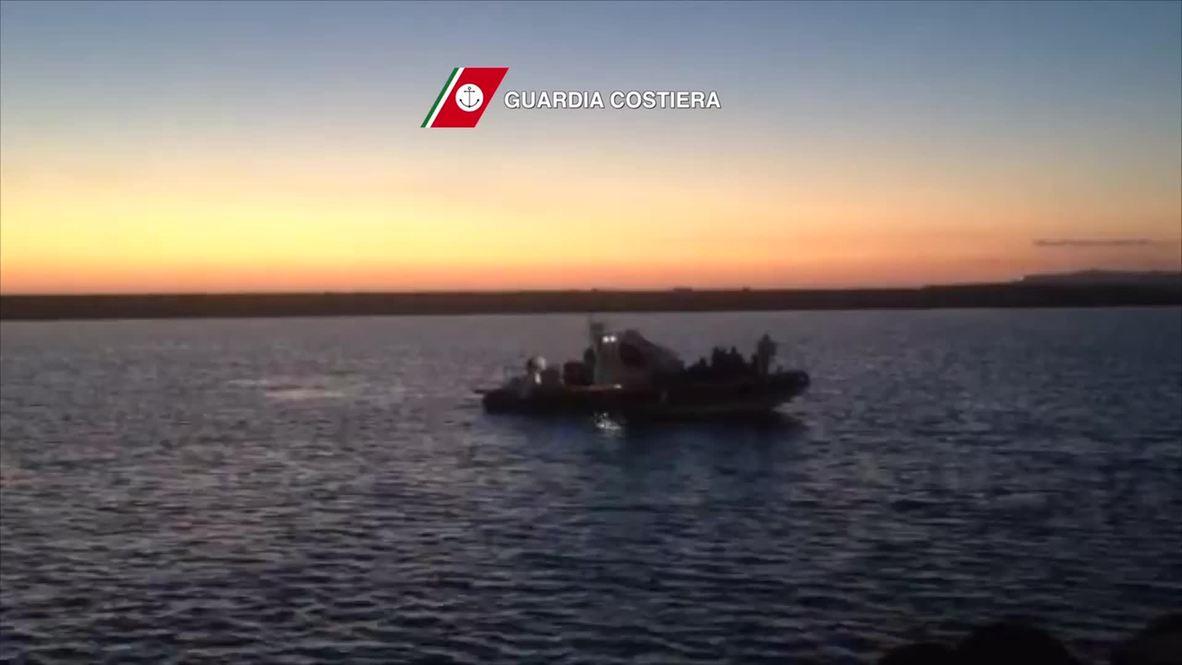 Italy: Coast Guard pick up 51 migrants off Sicilian coast