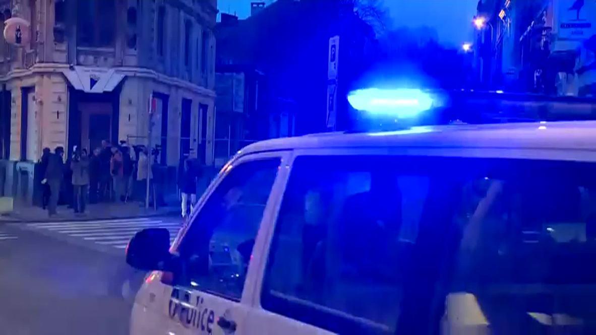 Belgium: Security level raised after 'anti-terror' raid leaves two dead