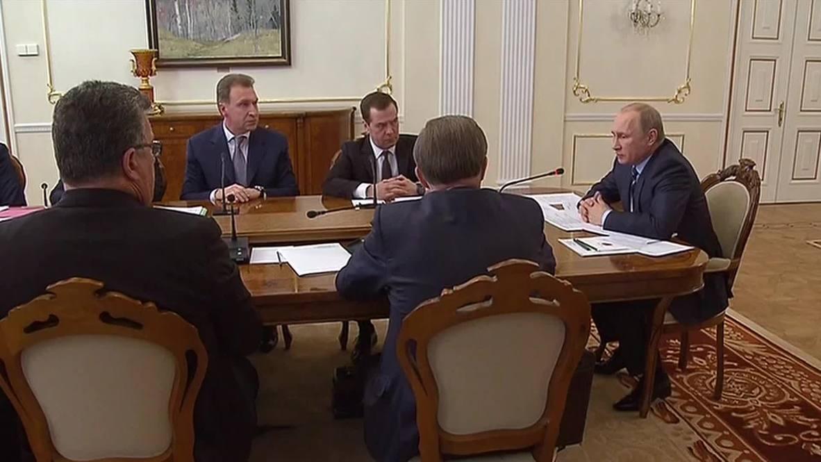 Russia: 'We've faced down economic crises before' - Putin