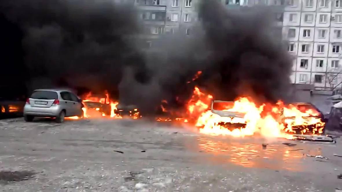 Ukraine: Mariupol hit by heavy shelling, streets devastated