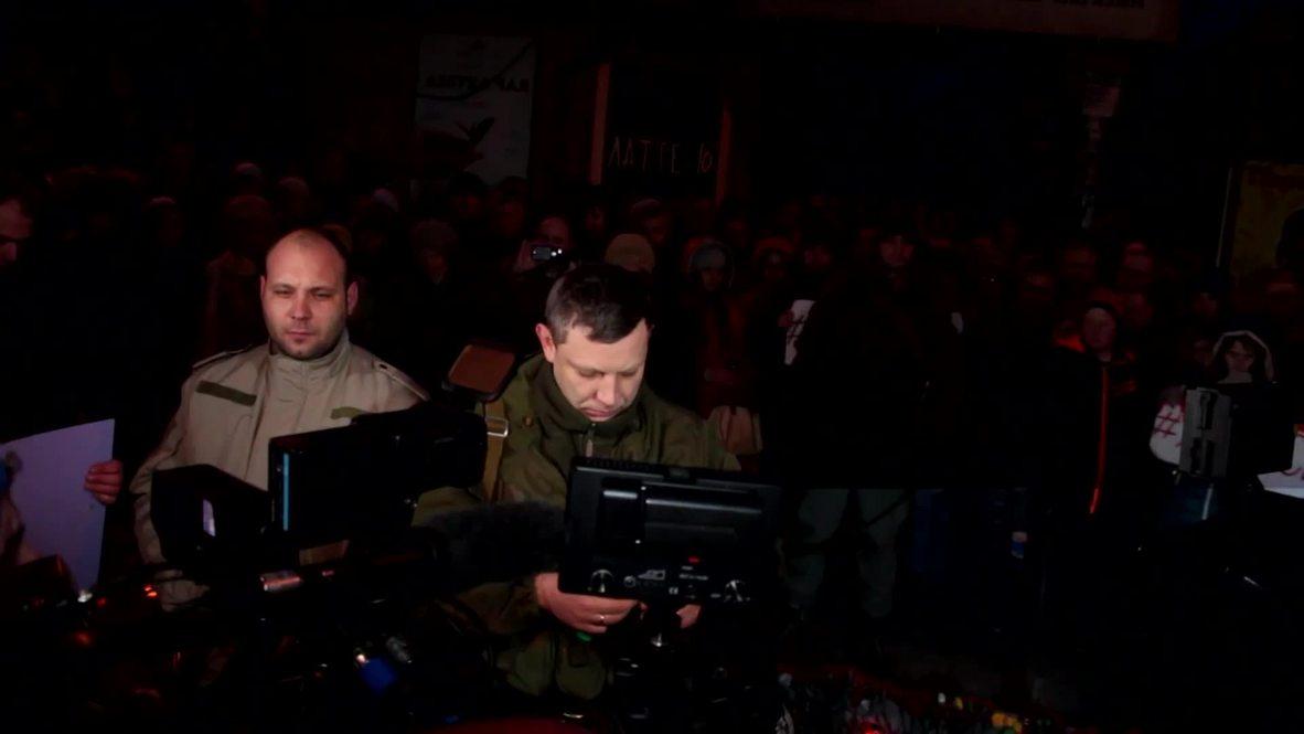 Ukraine: 'The Mariupol offensive has started' - DPR's Zakharchenko