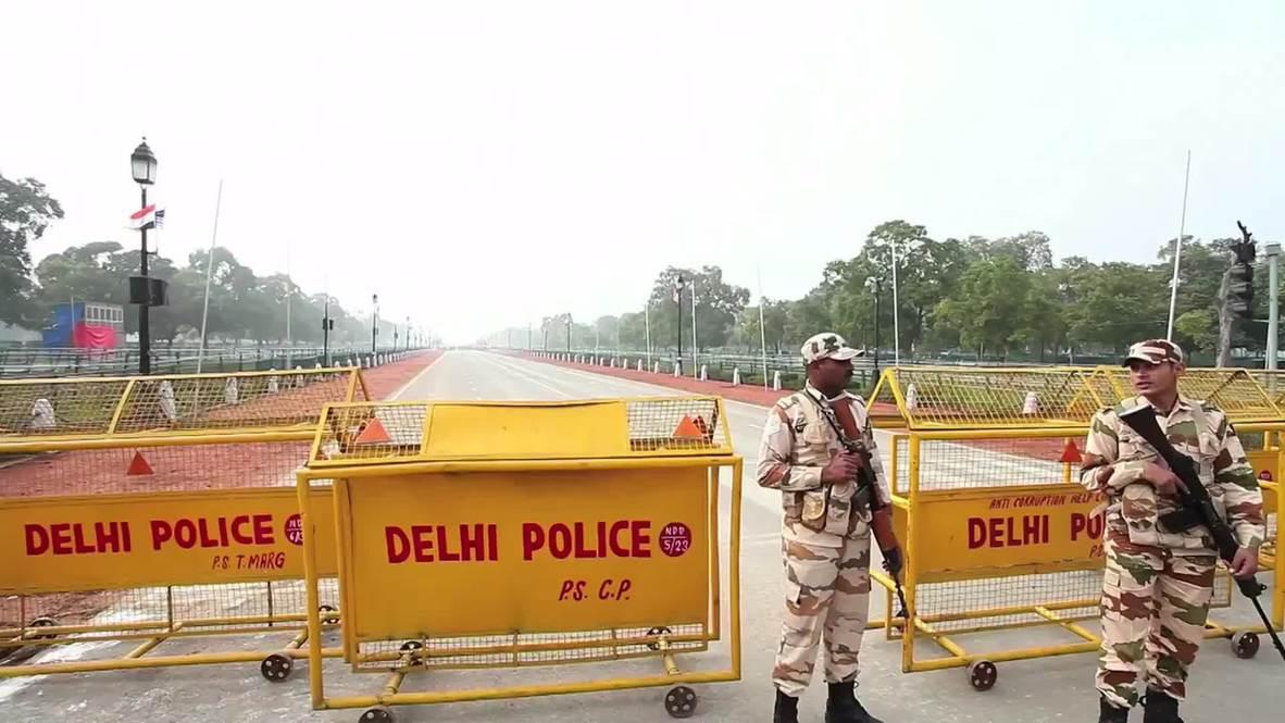 India: See how New Delhi LOCKS DOWN for Obama visit