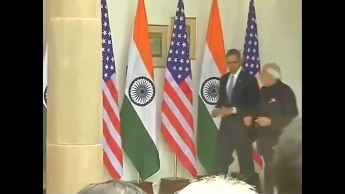 India: Obama and Modi hold bilateral talks in Delhi