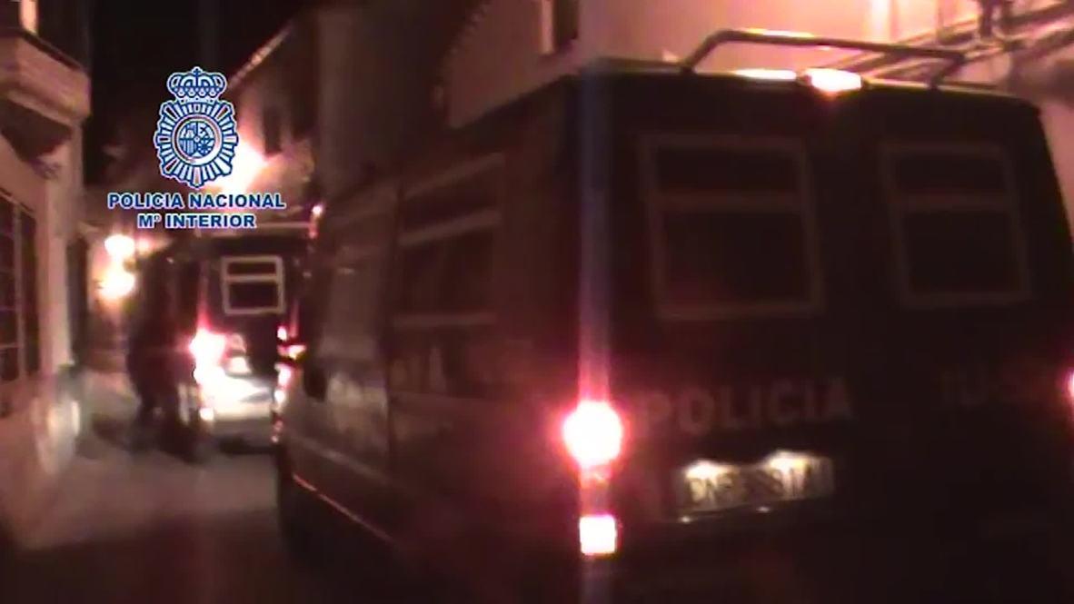 Spain: 'Pig's Head' gang members busted in Madrid police operation