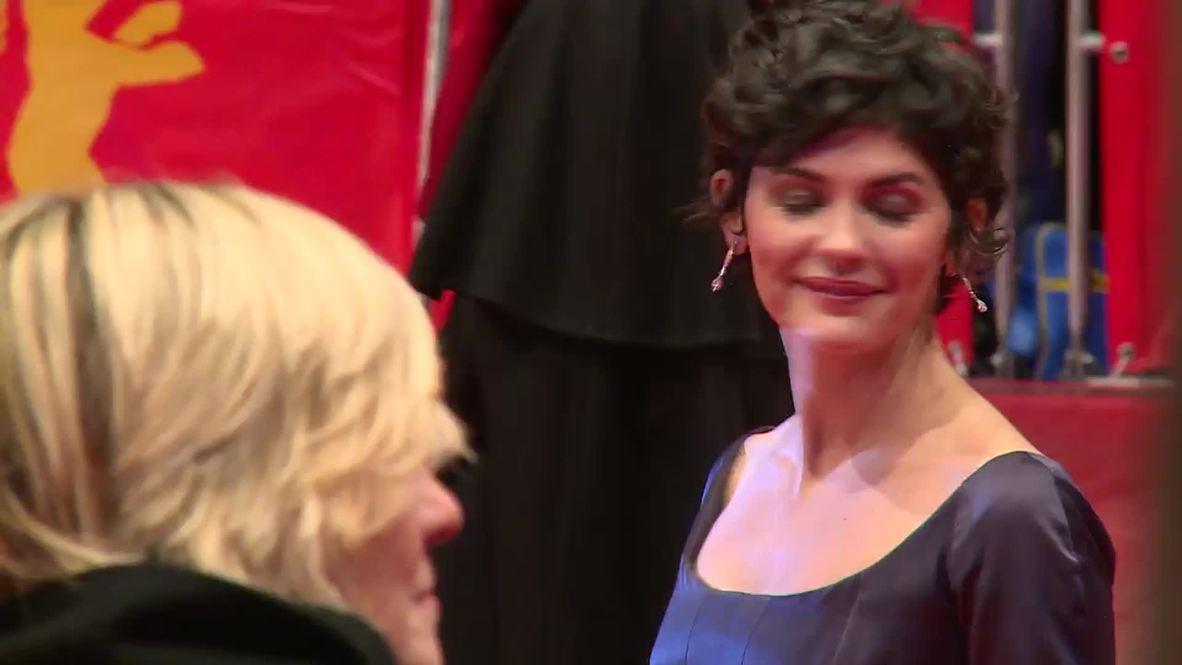 Germany: James Franco, Olga Kurylenko, Audrey Tautou and more hit Berlinale red carpet