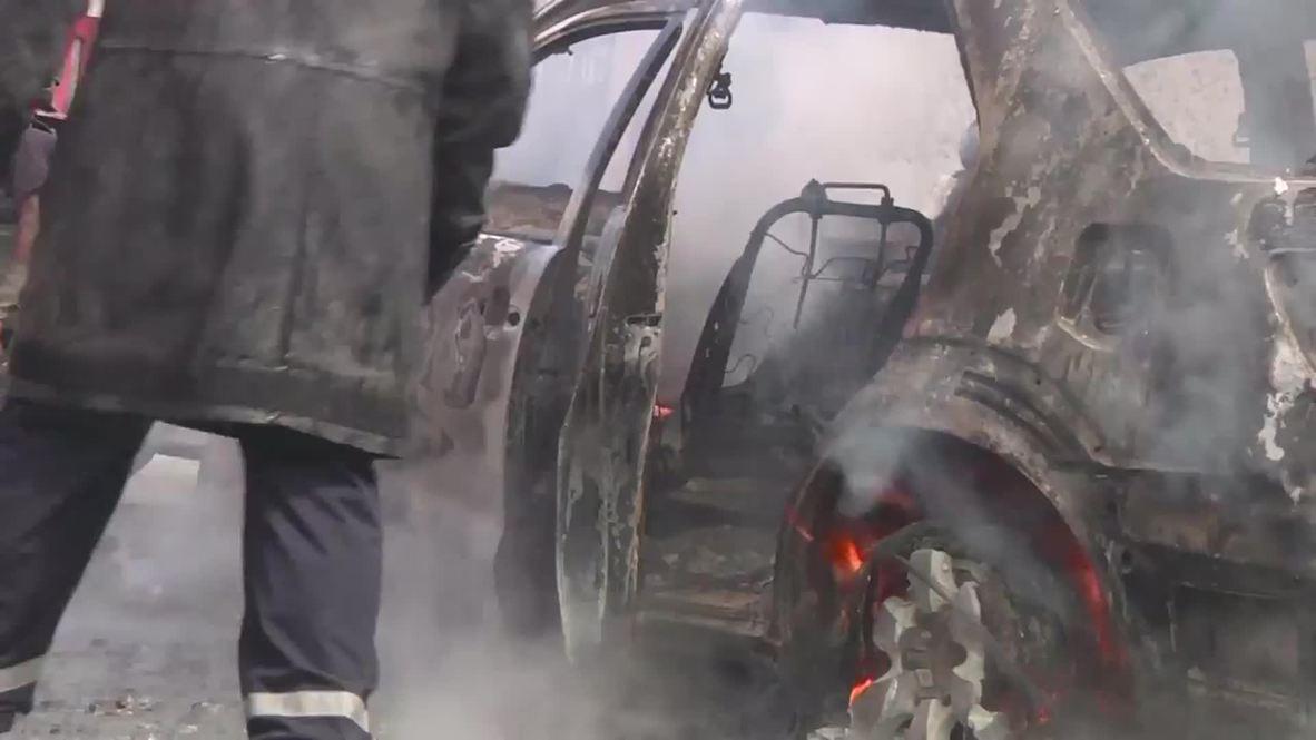 Haiti: Port-au-Prince BURNS in anti-Martelly fuel price protest