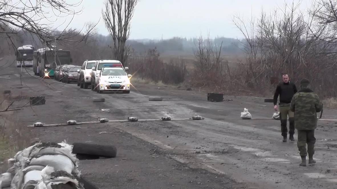 Ukraine: Debaltsevo evacuation mission FAILS after poor turn-out