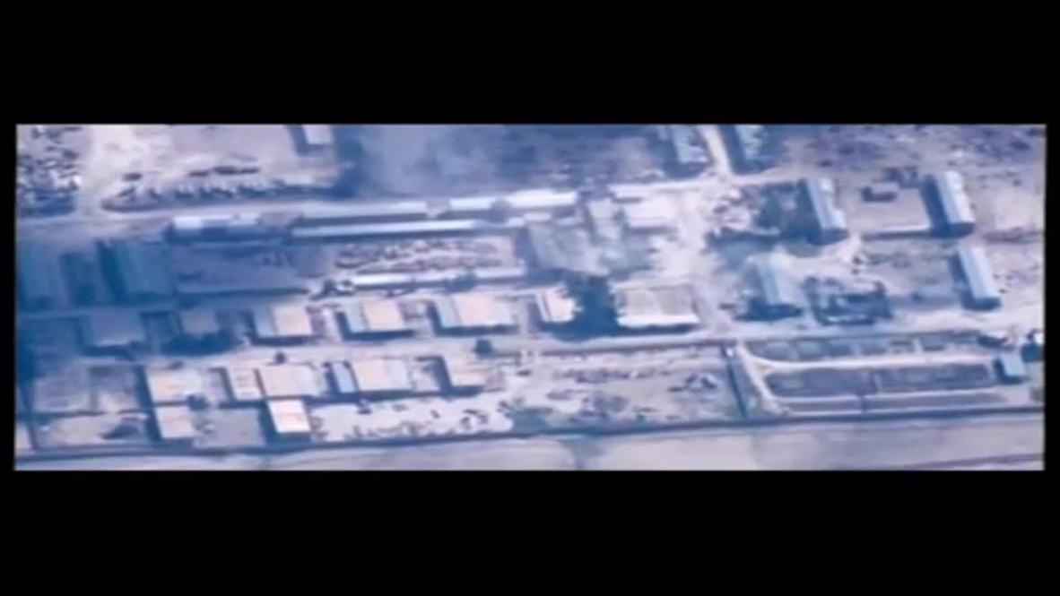 Syria: See Jordanian Air Force strike IS in Al Hasakah
