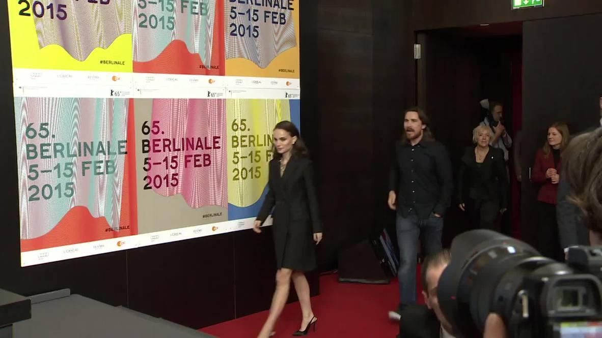 Germany: Watch Christian Bale embarrass journalist at 2015 Berlinale