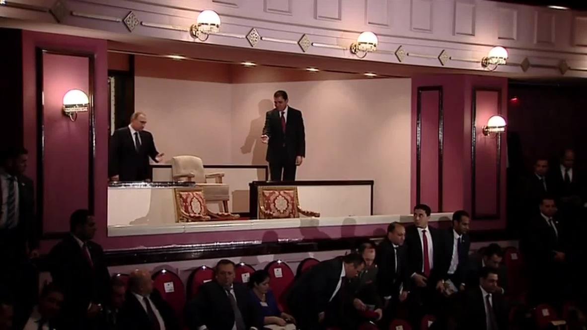Egypt: Putin and Sisi take in Cairo Opera ahead of bilateral talks