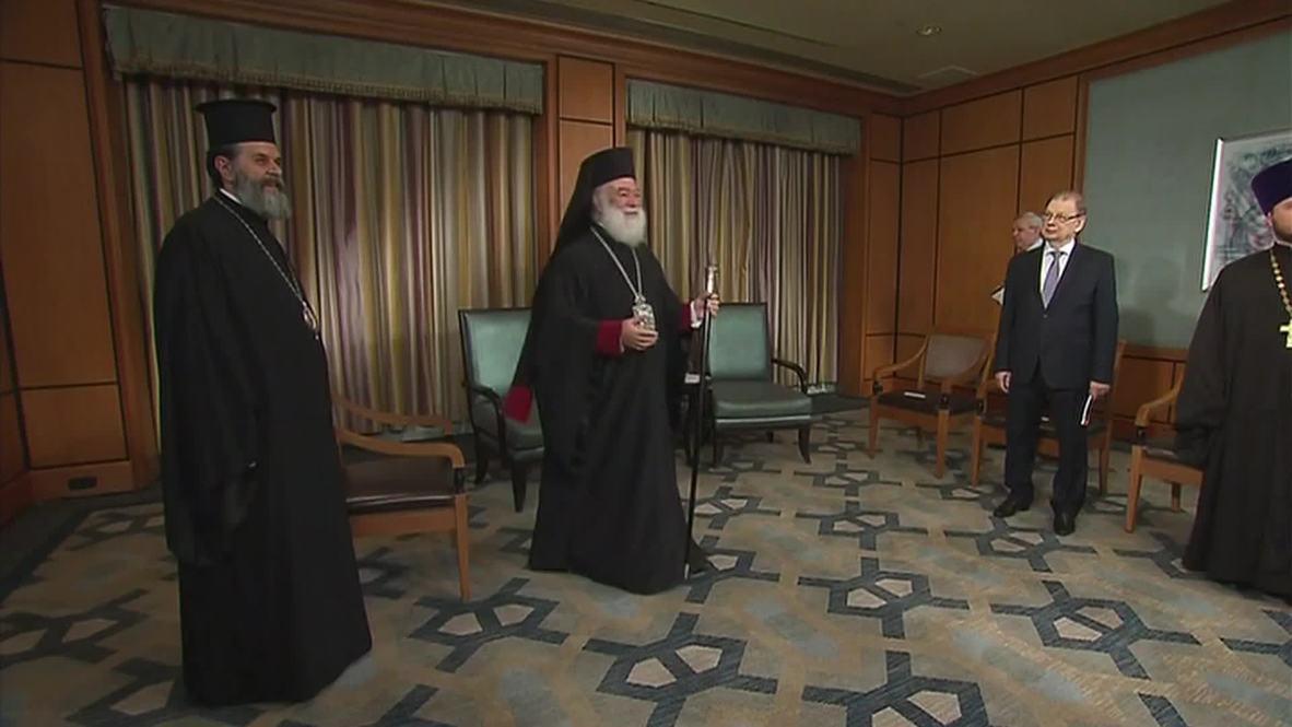 Egypt: Putin meets Patriarch Theodore II of Alexandria on Egypt visit