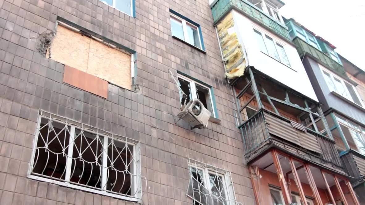 Ukraine: INTENSE shelling hits Donetsk two days before Minsk ceasefire kicks in