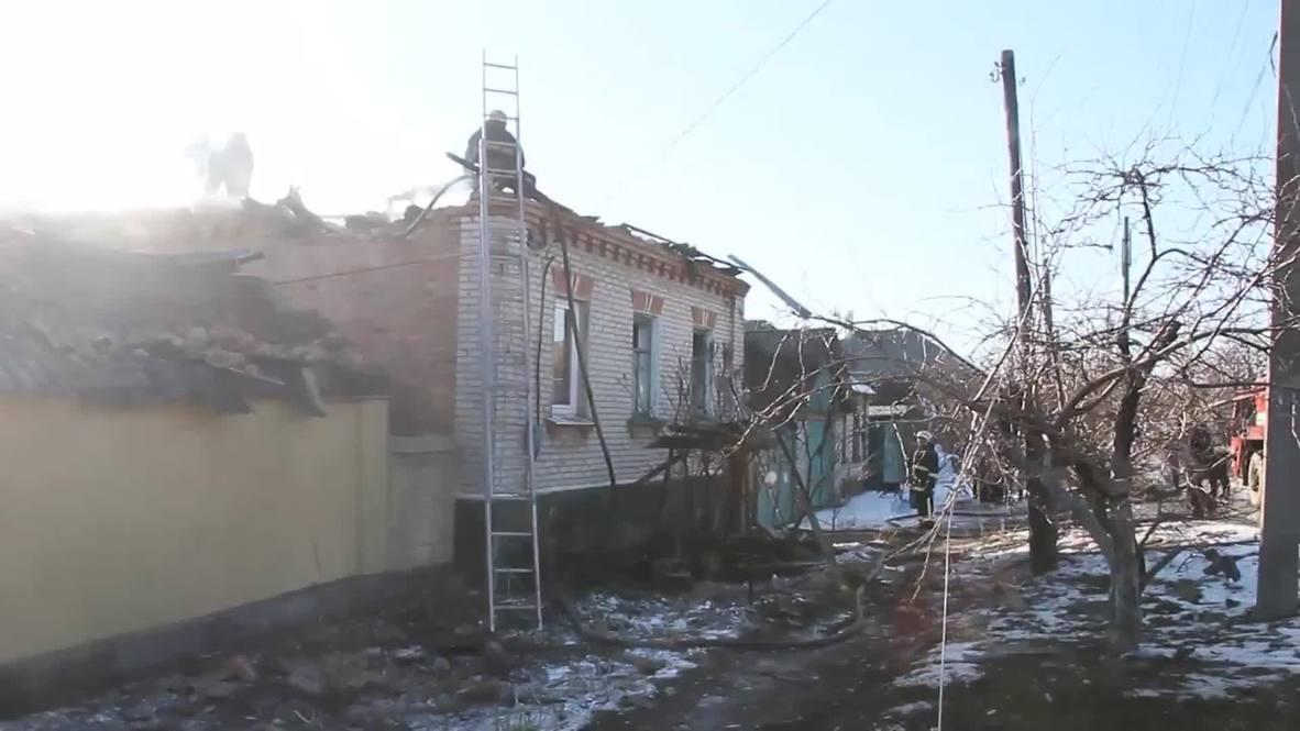 Ukraine: Intense attacks strike Lugansk before ceasefire takes hold