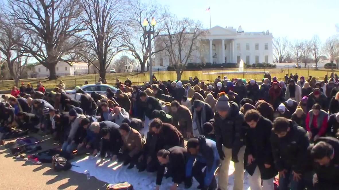 USA: Mass prayer to show 'Muslim Lives Matter' after Chapel Hill shooting