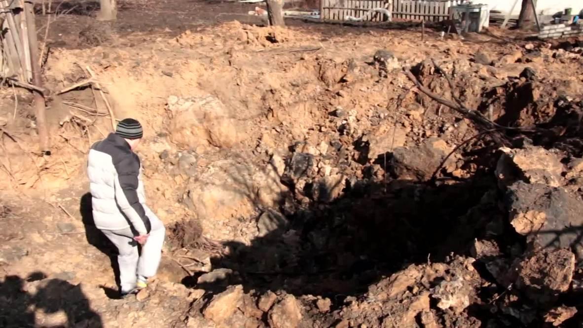 Ukraine: Donetsk chemical plant shelled on eve of ceasefire