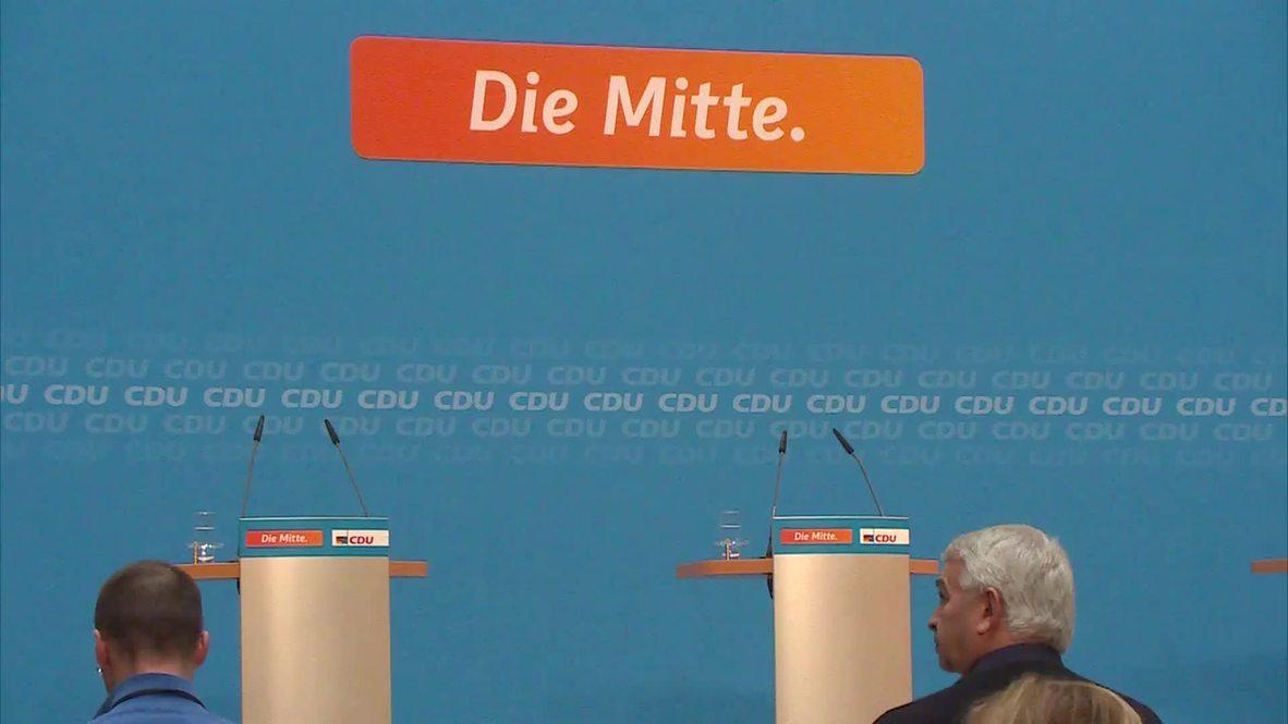 Germany: Merkel comments on 'bitter' Hamburg defeat