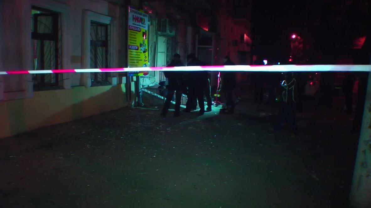 Ukraine: Blast strikes near office of pro-Maidan group in Odessa
