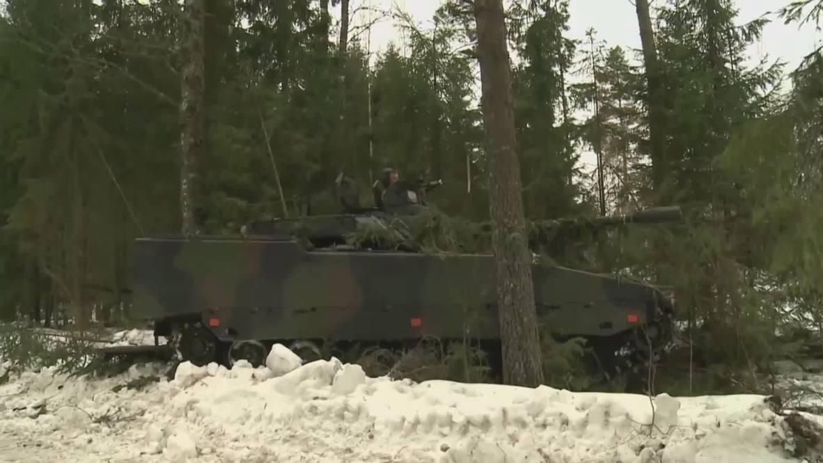 Estonia: Tallinn spends €100 mln on THESE 2nd-hand CV90 fighting vehicles