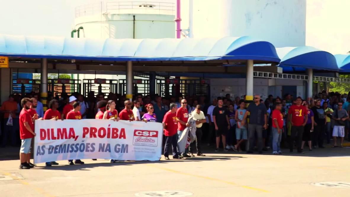 Brazil: Strikes rock General Motors factory