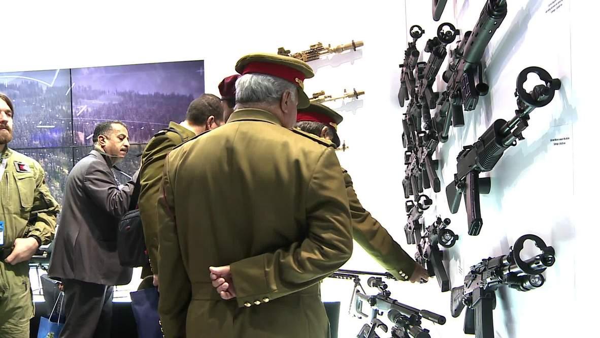 UAE: T-90 tanks, Dragunov sniper rifles and more on show at IDEX