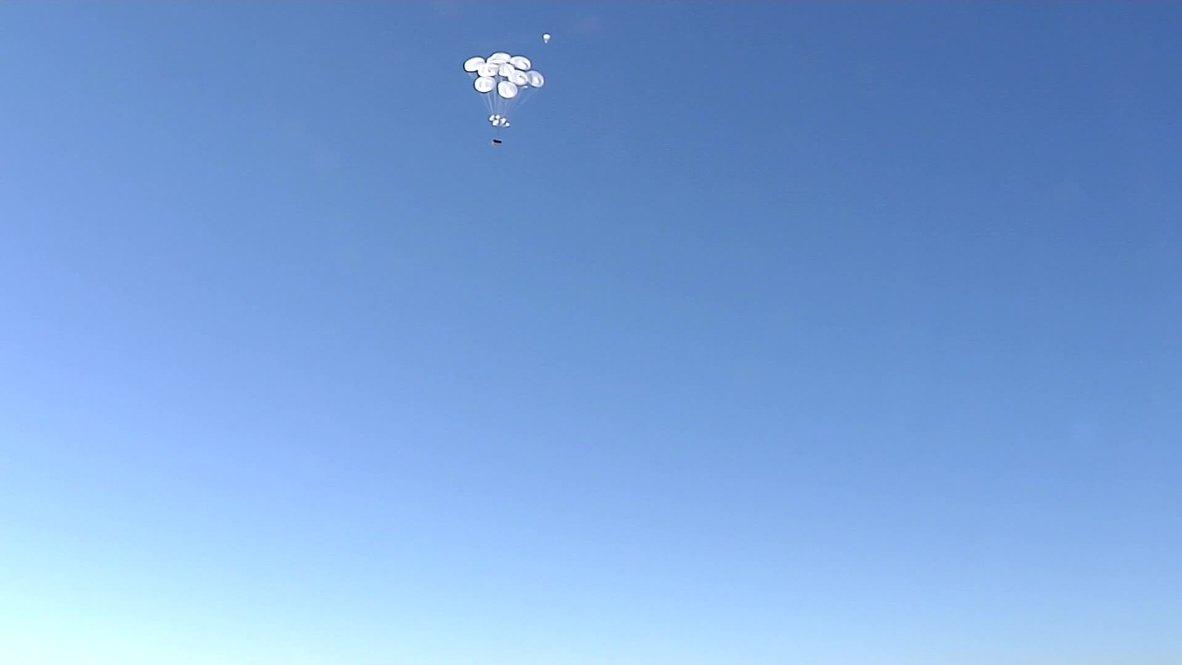 Russia: See Airborne troops drop BTR-MD Rakushka from plane