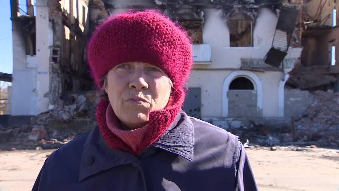Ukraine: DNR restoration efforts underway in war-torn Uglegorsk