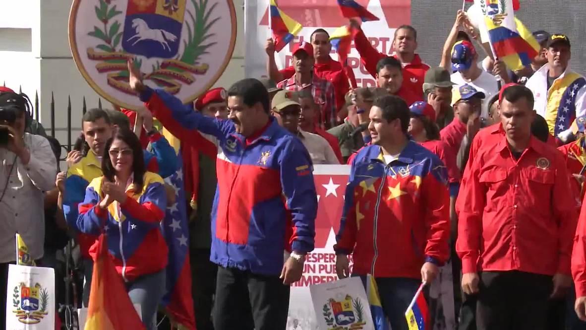 Venezuela: Maduro imposes 'anti-terrorist' sanctions against US