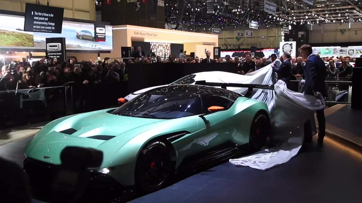 Switzerland: Get up close with Aston Martin's 800-hp Vulcan