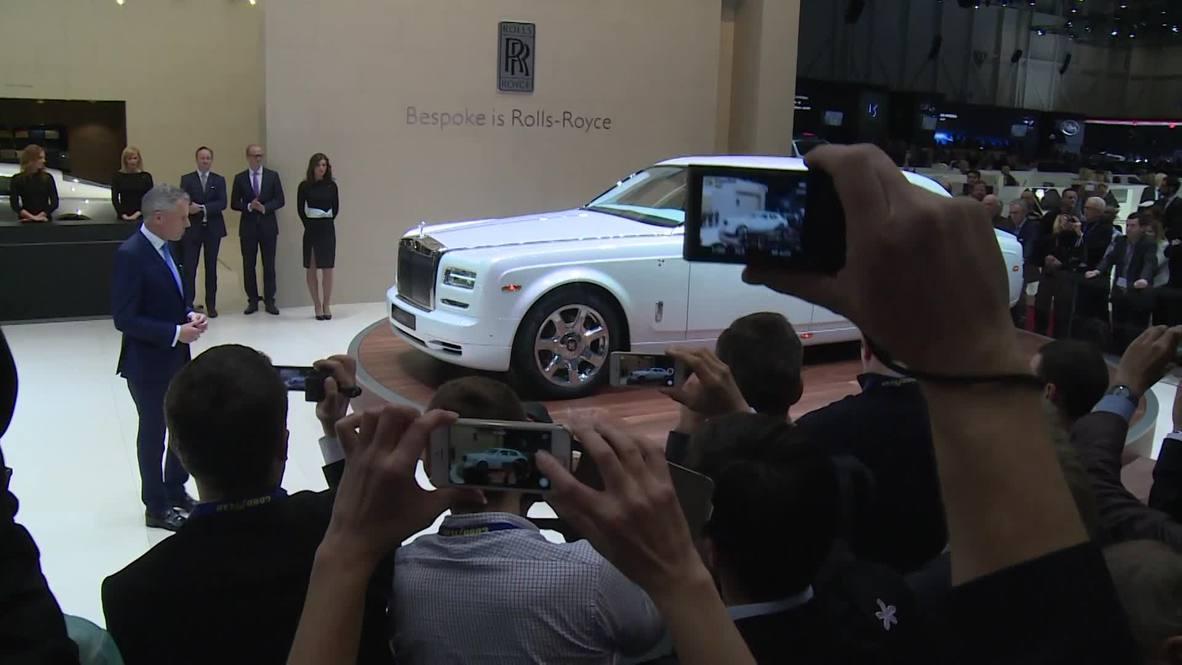 Switzerland: Rolls Royce's Phantom Serenity takes luxury to new heights