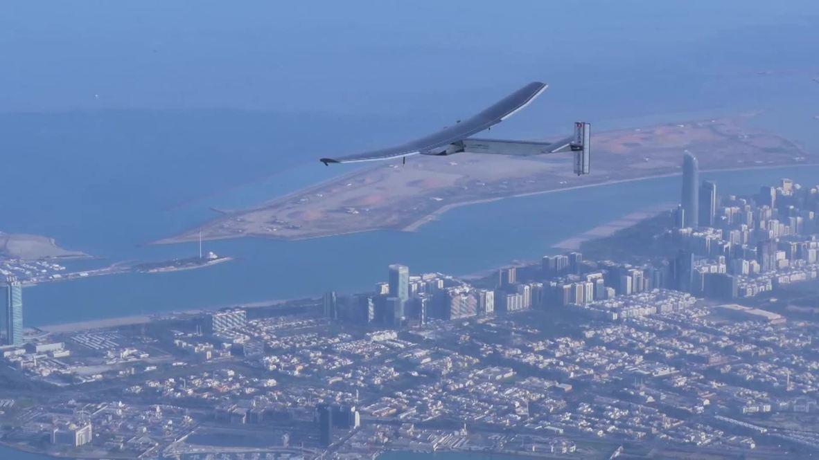 UAE: Airplane set to make world voyage using solar panels