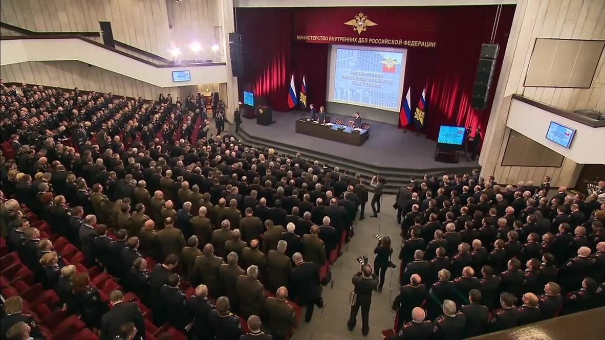 Russia: 'Nemtsov killing a disgrace, fundamental change needed'' - Putin
