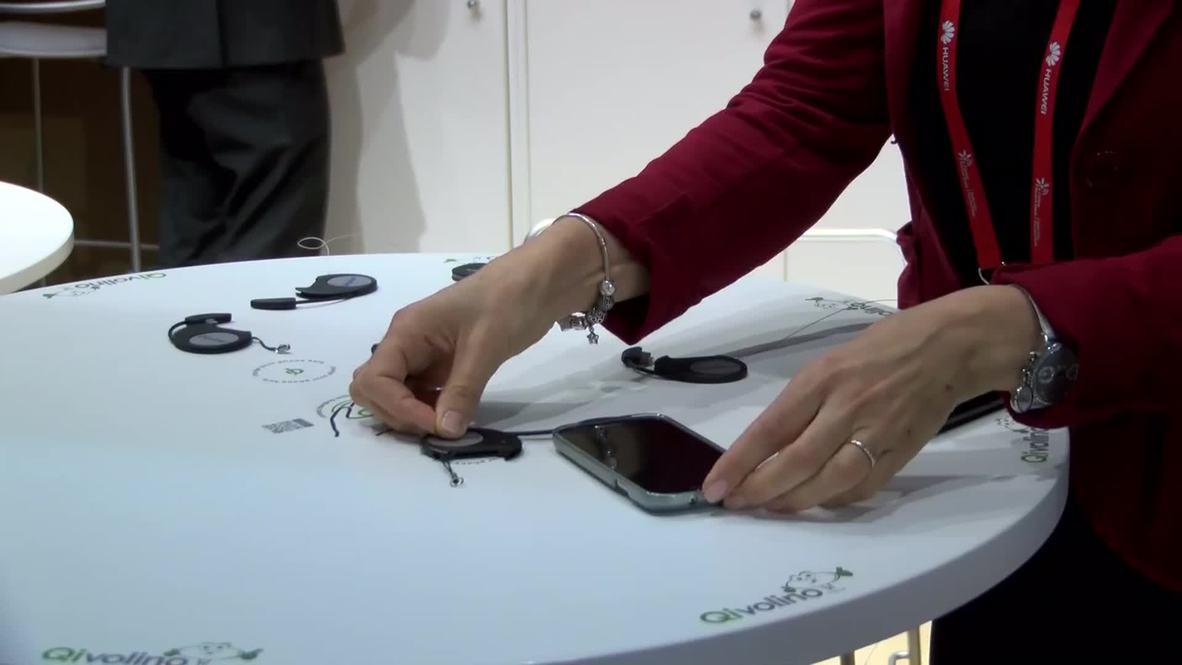Spain: See WIRELESS phone-charging furniture at WMC 2015