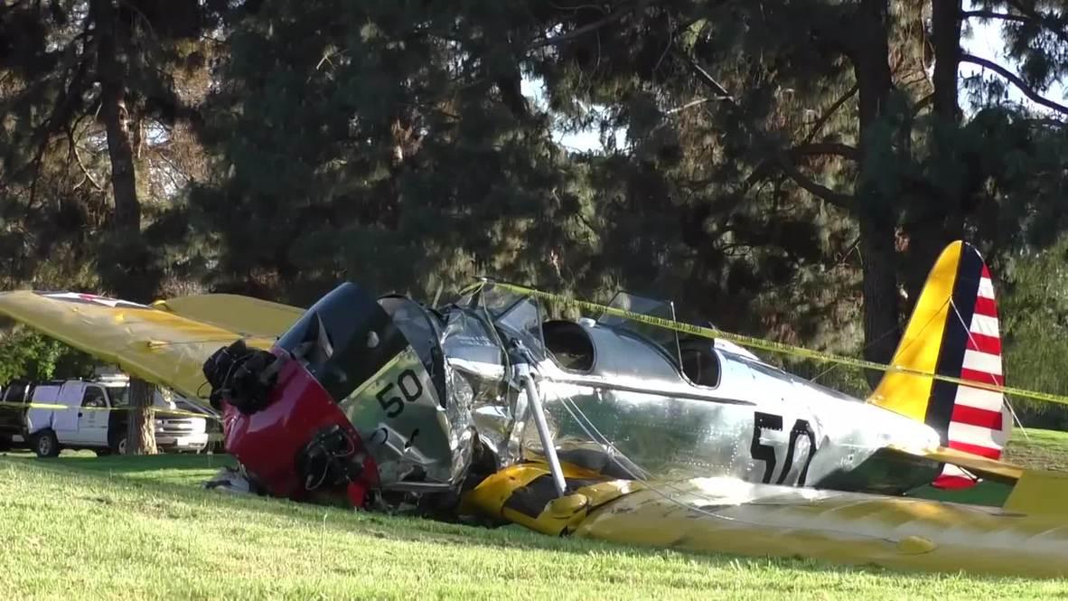 USA: Harrison Ford 'seriously injured' in LA plane crash