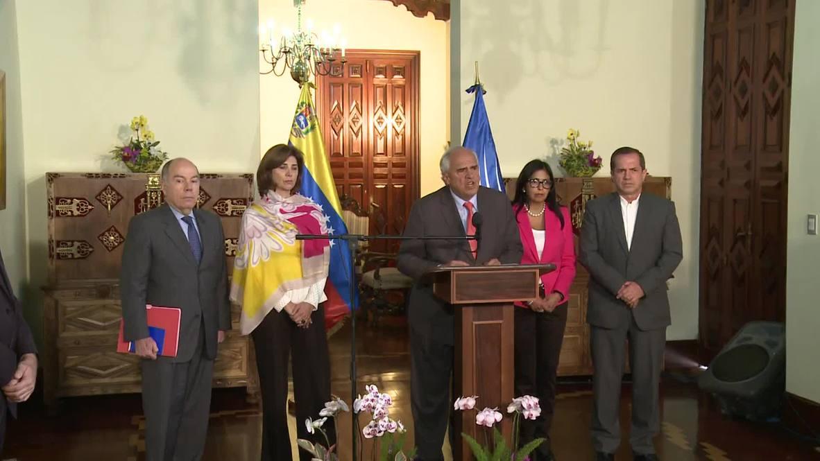"""Venezuela: UNASUR condemns US """"meddling"""" with Maduro's government"""