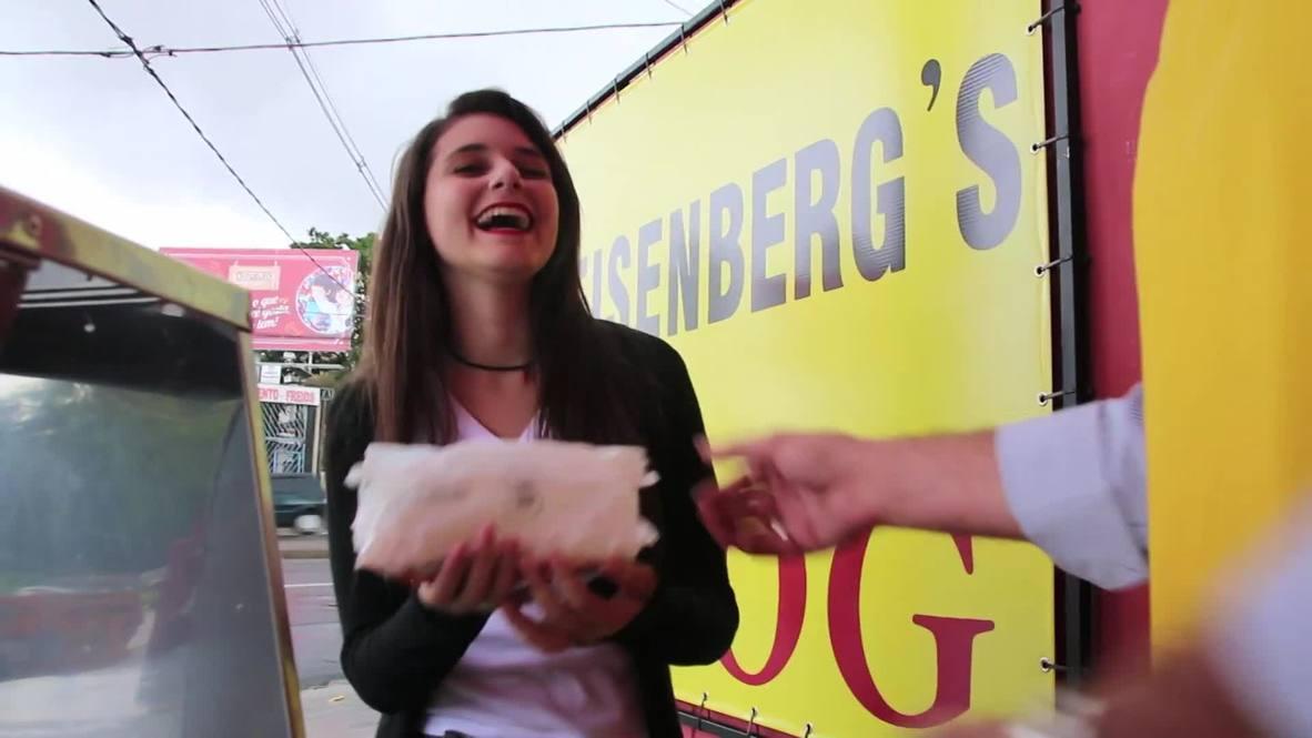 Brazil: Walter White lives, he's selling hot dogs in Brazil!
