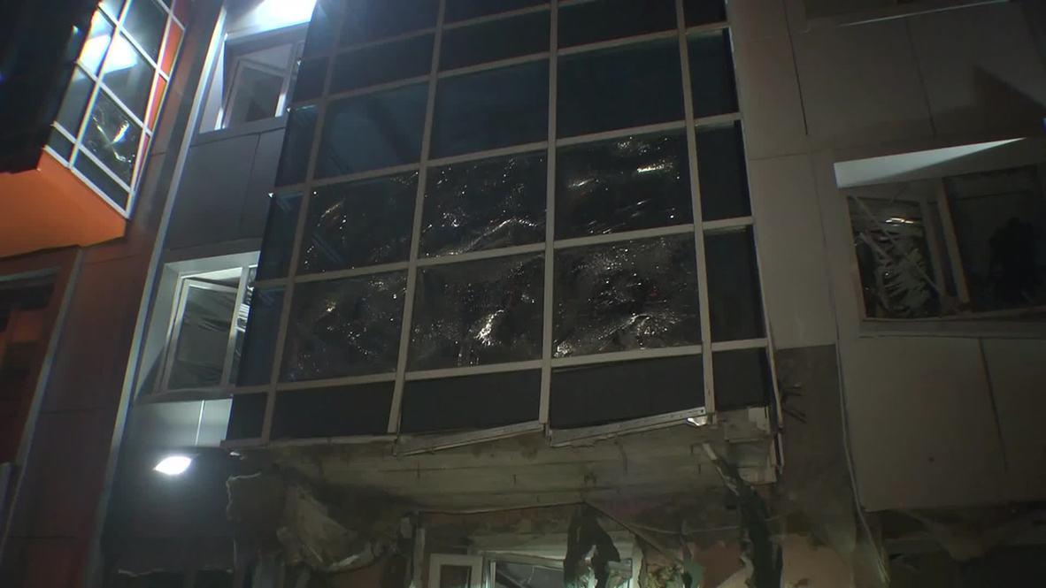 Ukraine: Explosion rips through Self Reliance's Odessa office