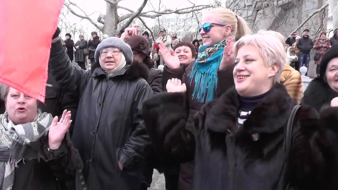 Russia: Crimea kicks off referendum anniversary celebrations