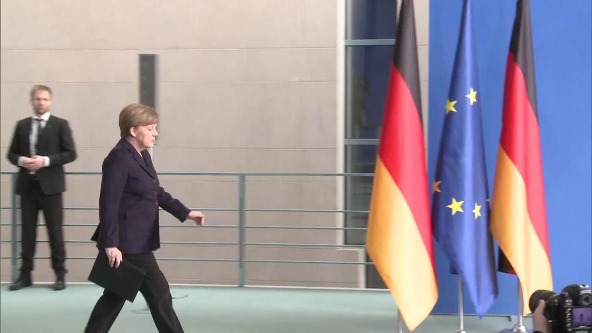 Germany: Merkel confirms she will travel to Germanwings crash site