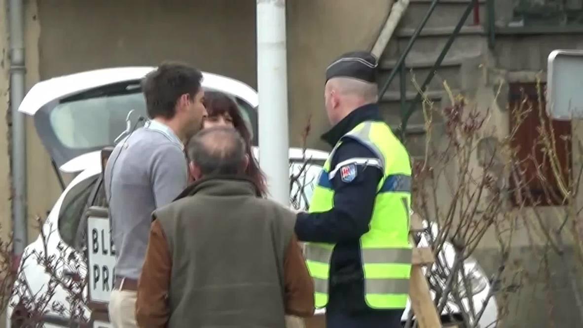 France: Village close to Germanwings 4U9525 crash site secured