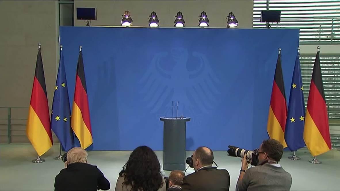 "Germany: Merkel declares Germanwings co-pilot news ""horrible burden"" for relatives of victims"