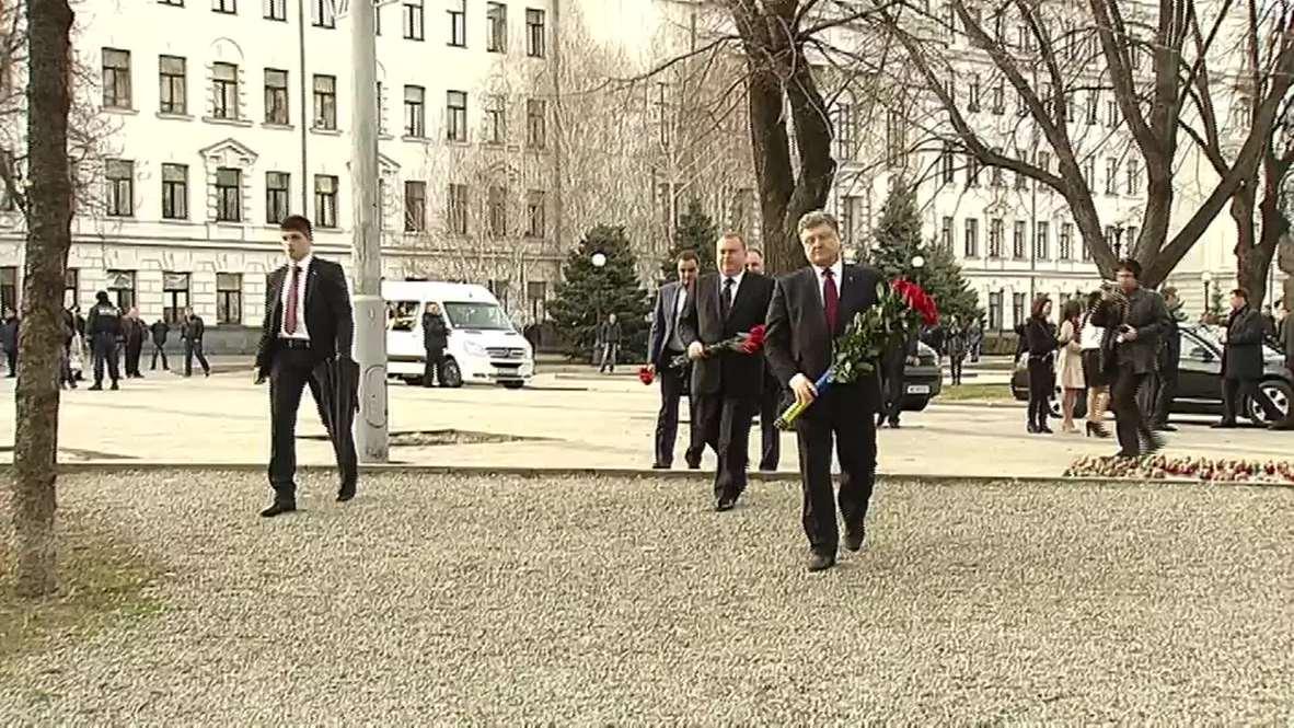 Ukraine: Poroshenko presents new head of the Dnepropetrovsk region