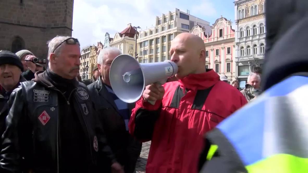 Czech Republic: Tensions high as US 'Dragoon Ride' travels through Pilsen
