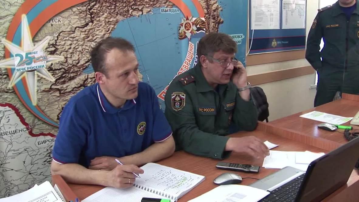 Russia: Dozens dead as trawler sinks in Okhotsk Sea