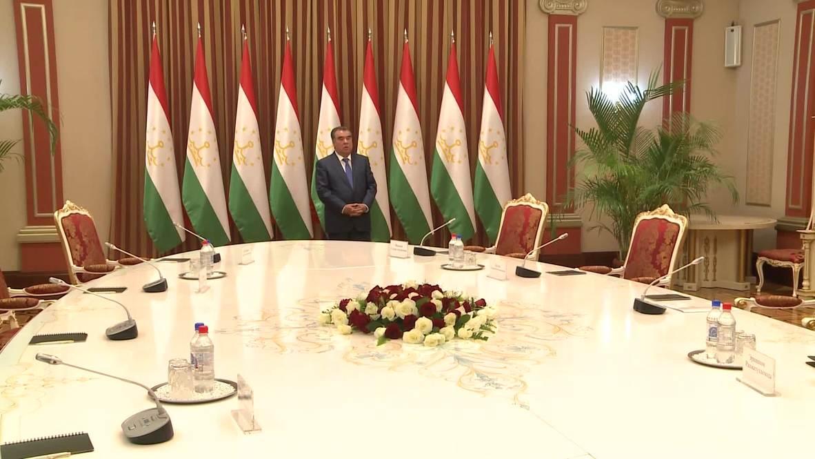 Tajikistan: Russian FM Lavrov attends CSTO meeting